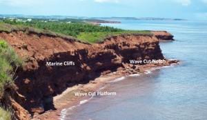 16 Marine cliffs PEI