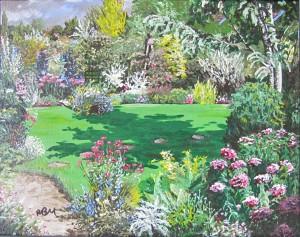 2010 05 Tessa's Garden 11X14