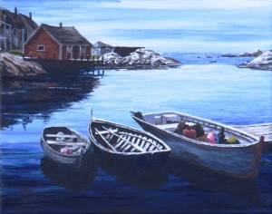 2012 08 27 Peggy's Cove 11x14s