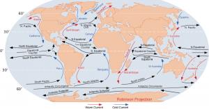 16 ocean currents