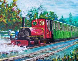 2009 10 01 #1 LLanberis Railway 11x14s