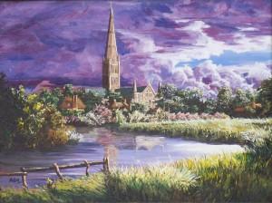 2011 02 24 Salisbury Cathedral 18x24