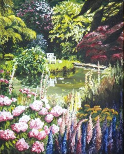 2011 06 19 The Pond at Chartwell 16x20s