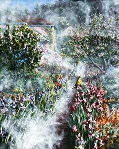 2014 05 17 Monet's Garden the Upper Orchard 16x20s