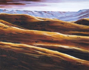 2014 09 28 Oldman River Coulee 11 x14s