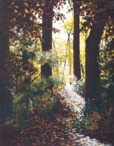2014 11 06 Autumn in Lothlorien 11x14s